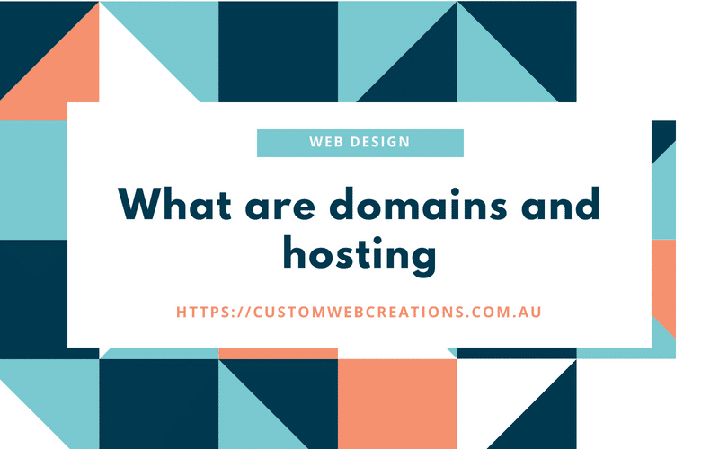 what are domains and hosting