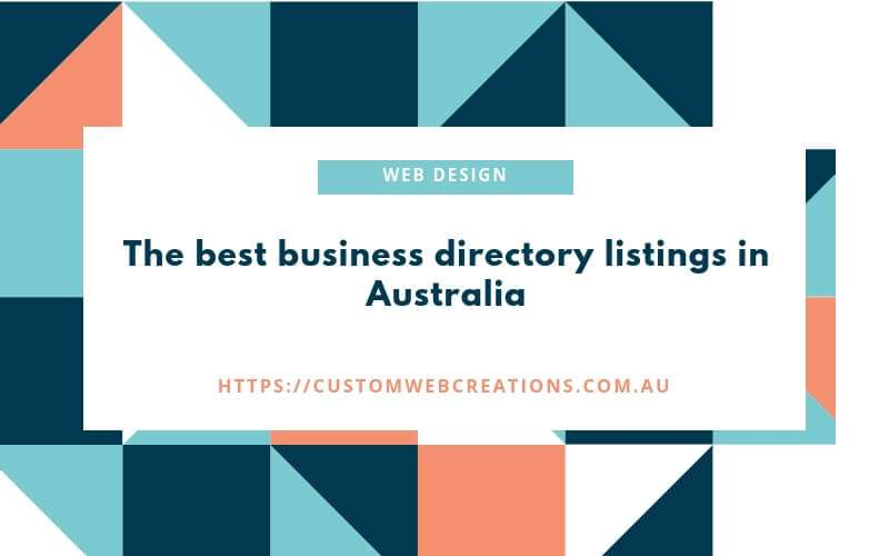 best business directorys in australia