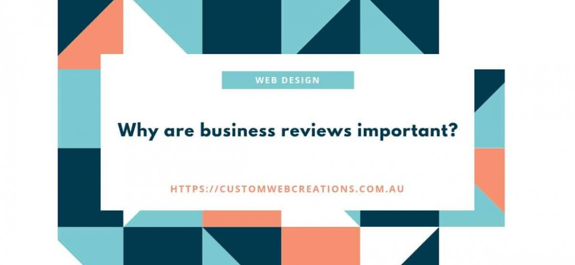 business and online reviews